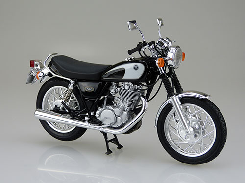 1/12 バイク No.17 ヤマハ SR400/500 '96 プラモデル(再販)[アオシマ]《取り寄せ※暫定》
