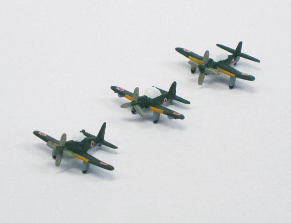 ちび丸グレードアップパーツシリーズ No.19 艦載機セット(2)(クリアー成型) プラモデル[フジミ模型]《取り寄せ※暫定》