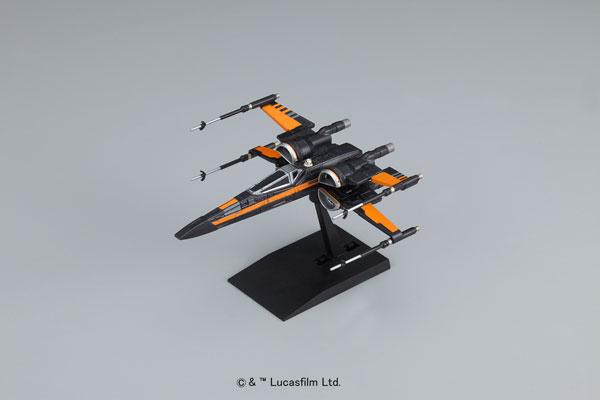 スター・ウォーズ ビークルモデル 003 Xウイング・ファイター ポー専用機 プラモデル(再販)[バンダイ]《発売済・在庫品》