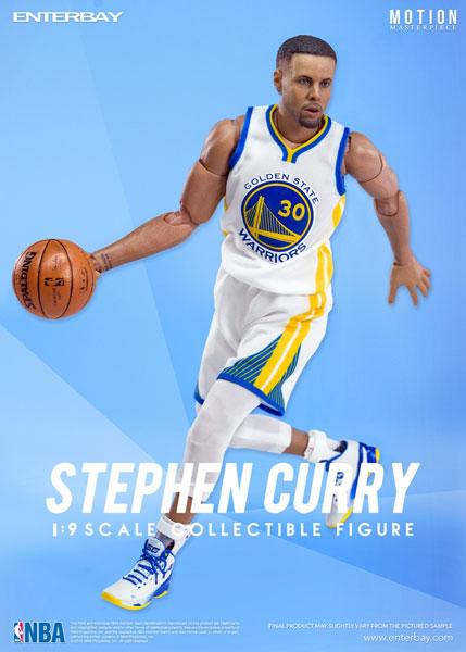 1/9 モーションマスターピース コレクティブル フィギュア/ NBAコレクション: ステフィン・カリー MM-1201[エンターベイ]《在庫切れ》