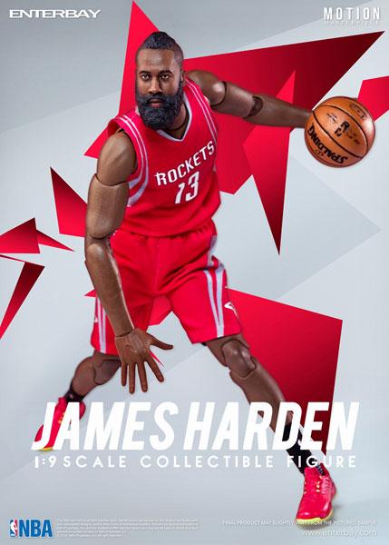 1/9 モーションマスターピース コレクティブル フィギュア/ NBAコレクション: ジェームス・ハーデン MM-1202[エンターベイ]《在庫切れ》