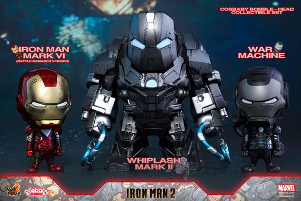 コスベイビー アイアンマン2 サイズS ウィップラッシュ・マーク2&アイアンマン・マーク6&ウォーマシン(3体セット)