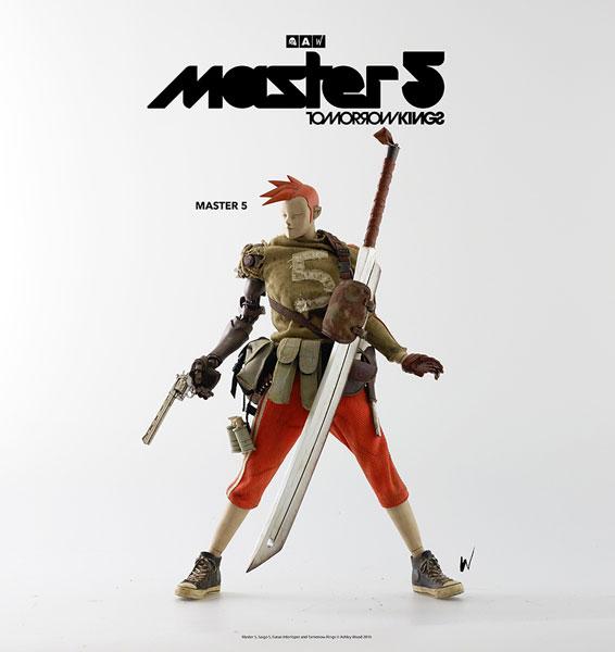 THE WORLD OF POPBOT TOMORROW KINGS MASTER 5(トゥモローキング マスター5) 1/6 可動フィギュア