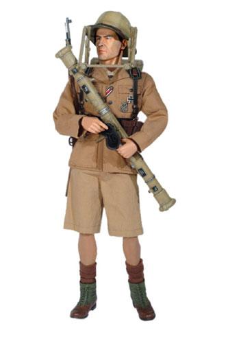 """1/6 WW.II ドイツアフリカ軍団 第53高射砲連隊 第I大隊 測距手 """"ウルリッヒ・シェーファー"""" トブルク 1942"""