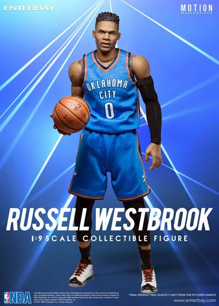 1/9 モーションマスターピース コレクティブル フィギュア/ NBAコレクション:ラッセル・ウェストブルック MM-1203[エンターベイ]《在庫切れ》