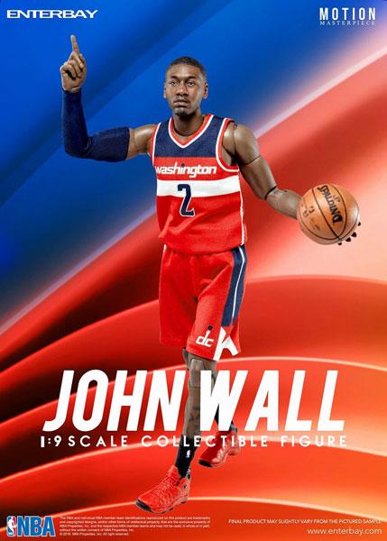 1/9 モーションマスターピース コレクティブル フィギュア/ NBAコレクション:ジョン・ウォール MM-1204[エンターベイ]《在庫切れ》