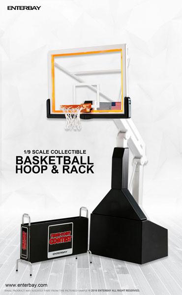 1/9 モーションマスターピース コレクティブル フィギュア/ NBAコレクション:バスケットボール フープ スタンド OR-1004[エンターベイ]《在庫切れ》