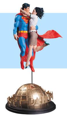 『DCコミックス』 DC スタチュー 「デザイナーシリーズ」スーパーマン&ロイス・レーン By ゲーリー・フランク[DCコレクティブル]【送料無料】《在庫切れ》