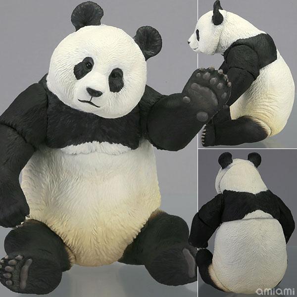ソフビトイボックス 003 パンダ (ジャイアントパンダ) ソフビフィギュア(再販)[海洋堂]《取り寄せ※暫定》