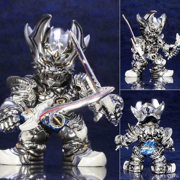 牙狼デフォルメ魔戒コレクション 銀牙騎士ゼロ メッキver.[アートストーム]《在庫切れ》