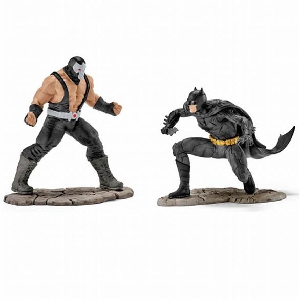DCコミックス シーナリーパック/ バットマン vs ベイン PVC ミニフィギュア セット 22540