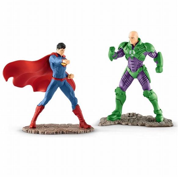 DCコミックス シーナリーパック/ スーパーマン vs レックス・ルーサー PVC ミニフィギュア セット 22541