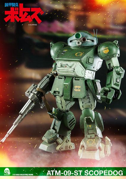 装甲騎兵ボトムズ ATM-09-ST SCOPEDOG (ATM-09-ST スコープドッグ) 1/12 可動フィギュア[スリー・ゼロ]【送料無料】《在庫切れ》