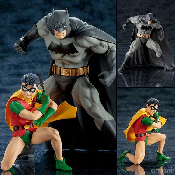 ARTFX+ DC UNIVERSE バットマン&ロビン 2パック 1/10 完成品フィギュア[コトブキヤ]《在庫切れ》