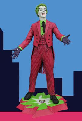 『バットマン 1966年TVシリーズ』スタチュー プレミアコレクション ジョーカー
