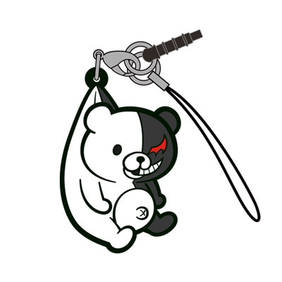 ダンガンロンパ3 THE END OF 希望ヶ峰学園 モノクマつままれストラップVer.2.0(再販)[コスパ]《在庫切れ》