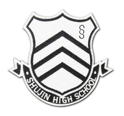 ペルソナ5 秀尽学園高校 校章脱着式ワッペン(再販)[コスパ]《09月予約》