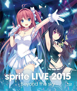BD sprite LIVE 2015 - Beyond the sky - (Blu-ray Disc)[Side Connection Music]《取り寄せ※暫定》