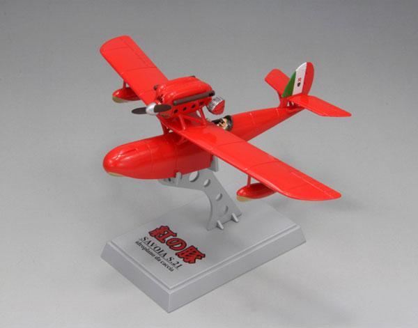 1/72 紅の豚 サボイアS.21試作戦闘飛行艇 塗装済完成品(再販)[ファインモールド]《発売済・在庫品》