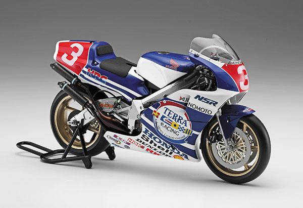 1/12 Honda NSR500 1989 全日本GP500 プラモデル(再販)[ハセガワ]《09月予約》