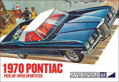 1/25 1970 ポンティアック ピックアップ/オープンスポーツスター プラモデル(再販)[MPC]《在庫切れ》