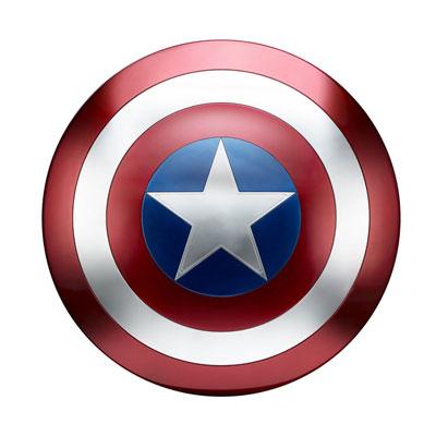 『マーベル・コミック』 ハズブロ レプリカ 「レジェンド」2017年版 キャプテン・アメリカ シールド[ハズブロ]《在庫切れ》