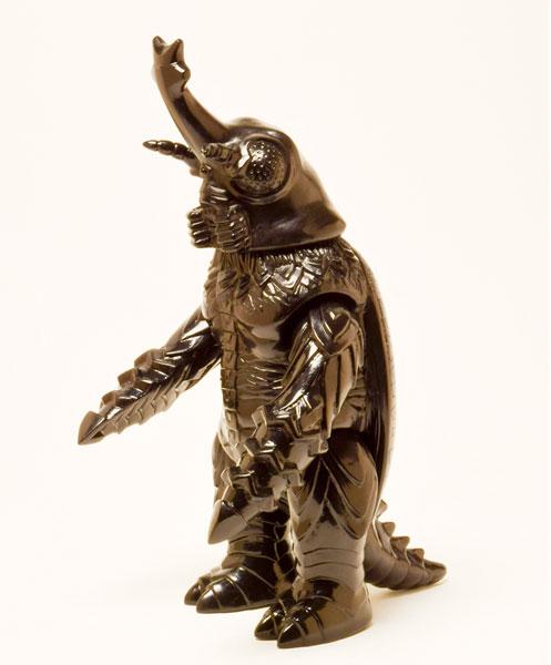 世紀の東宝怪獣 漆黒オブジェコレクション メガロ1973(再販)[マルサン]《在庫切れ》