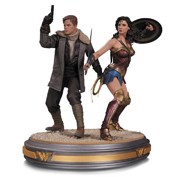 『ワンダーウーマン』 DC スタチュー ワンダーウーマン&スティーブ・トレバー