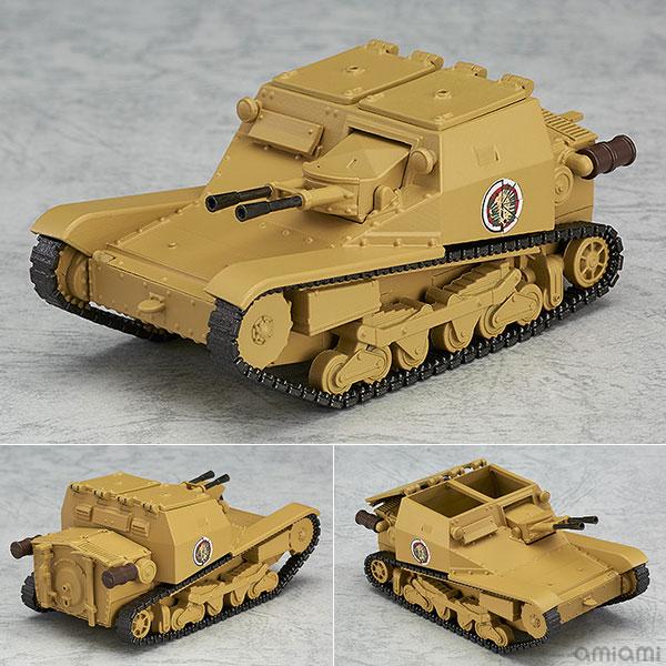 ねんどろいどもあ ガールズ&パンツァー 劇場版 CV33型快速戦車(L3/33)[グッドスマイルカンパニー]《在庫切れ》