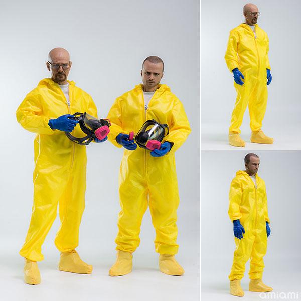 Breaking Bad ブレイキング・バッド ハイゼンベルク&ジェシー 化学防護服コンボ 1/6 可動フィギュア