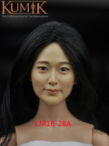 1/6 女性ヘッド KM16-28 (A)