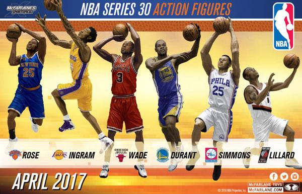 TMP/ NBA シリーズ30: 8体入りカートン