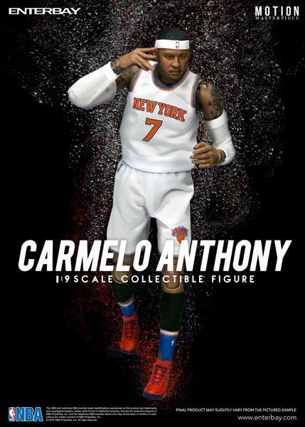 1/9 モーションマスターピース コレクティブル フィギュア/ NBAコレクション: カーメロ・アンソニー MM-1206[エンターベイ]《在庫切れ》