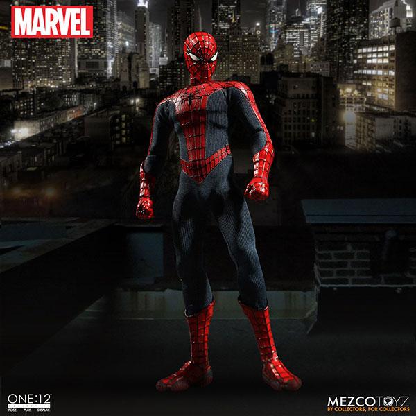 ワン12コレクティブ/ マーベルユニバース: スパイダーマン 1/12 アクションフィギュア[メズコ]《在庫切れ》