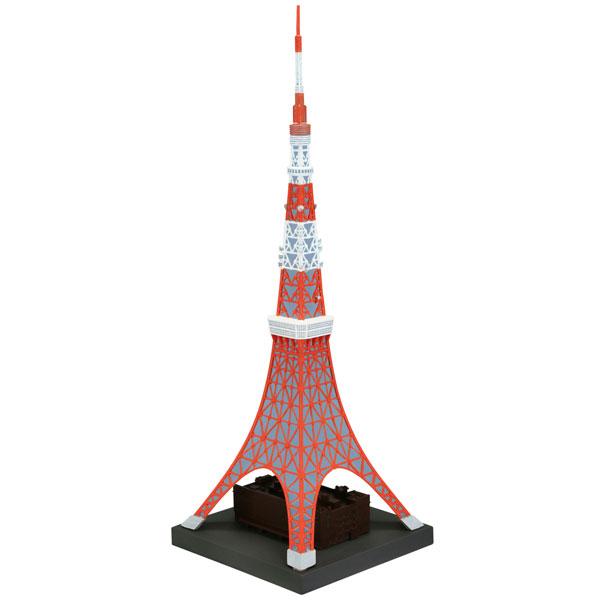 ソフビトイボックス Hi-LINE003 東京タワー 日本電波塔 約1/1300 ソフビフィギュア[ユニオンクリエイティブ]《在庫切れ》