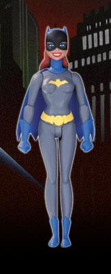 DC アクションフィギュア #34 バットガール(グレー・スーツ/ザ・アニメイテッド・シリーズ版)