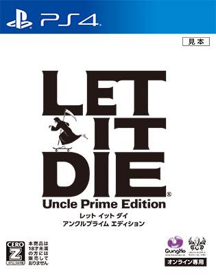 PS4 LET IT DIE アンクルプライム エディション[ガンホー]《在庫切れ》