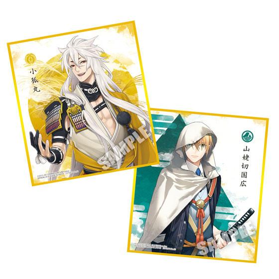 刀剣乱舞-ONLINE- 色紙ART2 10個入りBOX (食玩)[バンダイ]《在庫切れ》
