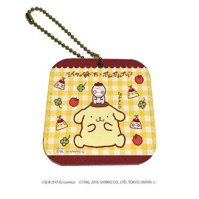 レザーミラーチャーム「ミイラの飼い方×ポムポムプリン」04/コラボイラスト04[A3]《在庫切れ》