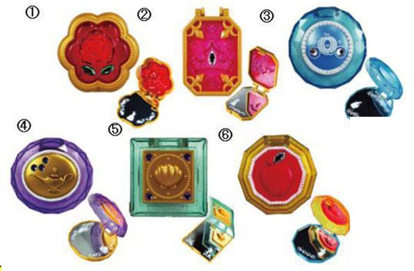 ディズニープリンセス コンパクトミラー 10個入りBOX (食玩)
