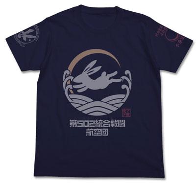 ブレイブウィッチーズ 下原定子 パーソナルマークTシャツ/ネイビー-L(再販)[コスパ]《08月予約》