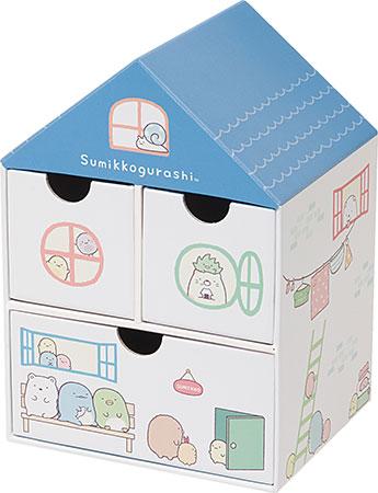 FB46601 すみっコぐらし ハウスチェスト 青い屋根の大きなおうち[サンエックス]《在庫切れ》