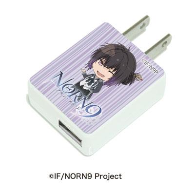 キャラアダ「NORN9 ノルン+ノネット」06/加賀見一月[A3]《在庫切れ》