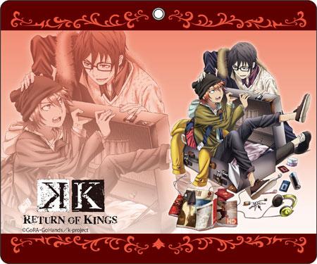 K RETURN OF KINGS 手帳型スマホケース B[コンテンツシード]《在庫切れ》