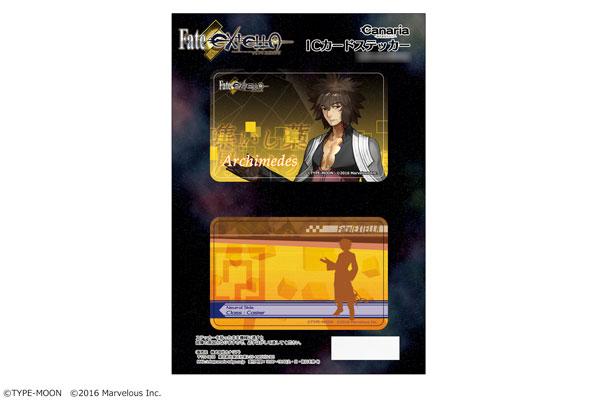 「Fate/EXTELLA」ICカードステッカーセット 16(アルキメデス)[カナリア]《在庫切れ》