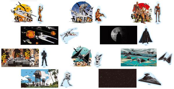 アクリルジオラマ コレクション STAR WARS ROGUE ONE 10個入りBOX[キャラアニ]《在庫切れ》