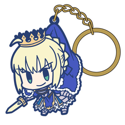 Fate/Grand Order セイバー/アルトリア・ペンドラゴンつままれキーホルダー(再販)[コスパ]《在庫切れ》
