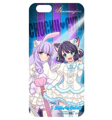 SHOW BY ROCK!! 着せ替えシート for iPhone6&6s (E)シアン&チュチュ[ACOS]《在庫切れ》