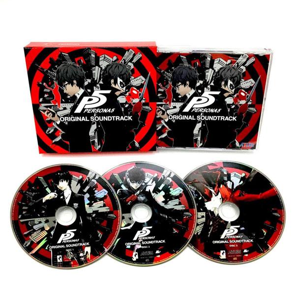 CD 『ペルソナ5』オリジナル・サウンドトラック[アトラス]《取り寄せ※暫定》
