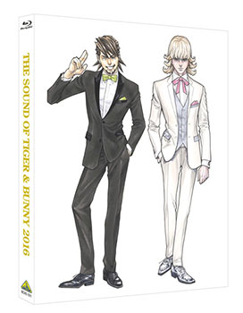 BD THE SOUND OF TIGER & BUNNY 2016 (Blu-ray Disc) アニメ・キャラクターグッズ新作情報・予約開始速報